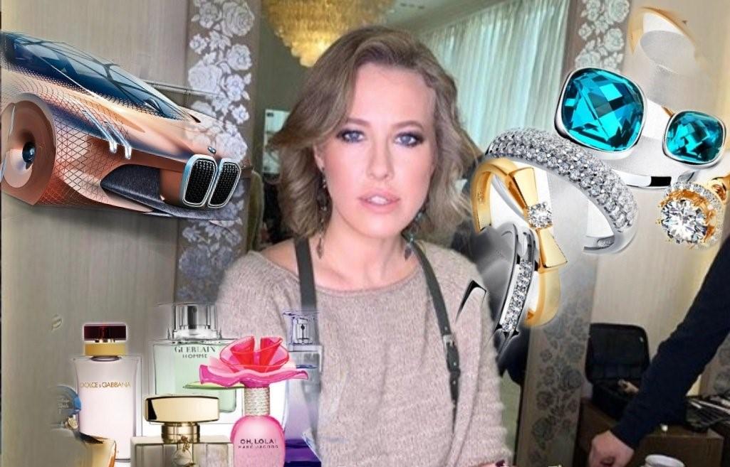 Годовой и ежемесячный доход Ксении Собчак