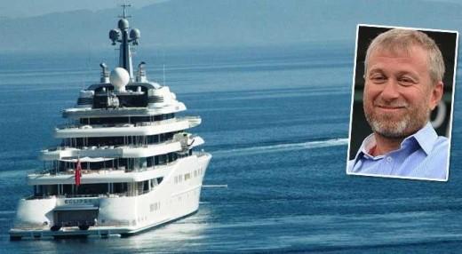 Роскошная яхта Романа Абрамовича: какая она